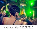 Women Dancing At The Night Club