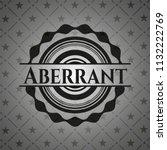 aberrant retro style black...   Shutterstock .eps vector #1132222769