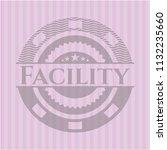 facility vintage pink emblem   Shutterstock .eps vector #1132235660