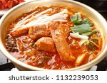 delicious steamed back ribs  on ...   Shutterstock . vector #1132239053