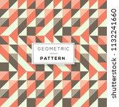 vector seamless pattern. modern ... | Shutterstock .eps vector #1132241660