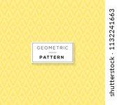 vector seamless pattern. modern ... | Shutterstock .eps vector #1132241663