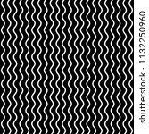 seamless pattern of wavy lines. ... | Shutterstock .eps vector #1132250960
