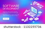 software development vector...
