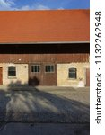 stable buildings bavaria style... | Shutterstock . vector #1132262948
