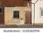 stable buildings bavaria style... | Shutterstock . vector #1132262954