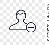 add user vector icon isolated...   Shutterstock .eps vector #1132264409