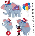 A Set Of Circus Elephants...