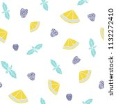 fresh seamless pattern with...   Shutterstock . vector #1132272410