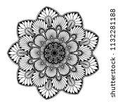 mandalas for coloring  book....   Shutterstock .eps vector #1132281188
