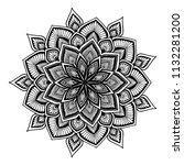 mandalas for coloring  book....   Shutterstock .eps vector #1132281200