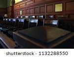 authentic restored antique jury ... | Shutterstock . vector #1132288550