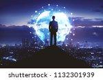 internet network  global...   Shutterstock . vector #1132301939
