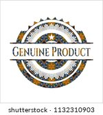 genuine product arabic style... | Shutterstock .eps vector #1132310903