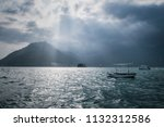 beautiful dramatic scenery in... | Shutterstock . vector #1132312586