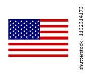 american flag design   Shutterstock .eps vector #1132314173