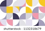 geometric pattern vector... | Shutterstock .eps vector #1132318679