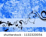 floral background design | Shutterstock . vector #1132320056