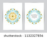 elegant element for design... | Shutterstock .eps vector #1132327856