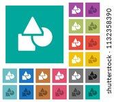 basic geometric shapes multi... | Shutterstock .eps vector #1132358390