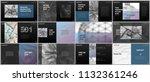 minimal presentations design ... | Shutterstock .eps vector #1132361246