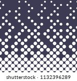 abstract halftone geometric... | Shutterstock .eps vector #1132396289