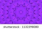geometric design  mosaic of a... | Shutterstock .eps vector #1132398080