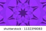 geometric design  mosaic of a... | Shutterstock .eps vector #1132398083