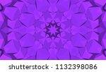 geometric design  mosaic of a... | Shutterstock .eps vector #1132398086