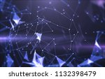 abstract background with... | Shutterstock . vector #1132398479