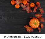 thanksgiving background  ... | Shutterstock . vector #1132401530