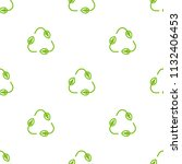 seamless eco pattern. three... | Shutterstock .eps vector #1132406453