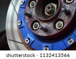 race car's disc brake   high... | Shutterstock . vector #1132413566