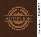 adoption vintage wood emblem | Shutterstock .eps vector #1132418690