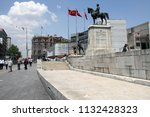 a view from ulus suquare ... | Shutterstock . vector #1132428323