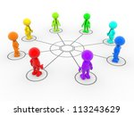 3d people   man  person... | Shutterstock . vector #113243629