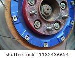 race car's disc brake   high... | Shutterstock . vector #1132436654