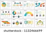 colorful strategy or planning... | Shutterstock .eps vector #1132466699