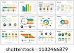 colorful consulting or workflow ... | Shutterstock .eps vector #1132466879