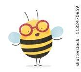 Cartoon Bee Illustration