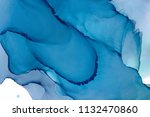 hand painted ink texture.... | Shutterstock . vector #1132470860