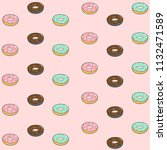 vector seamless pattern with... | Shutterstock .eps vector #1132471589
