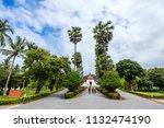 luang prabang laos june 29 ... | Shutterstock . vector #1132474190