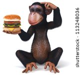 Monkey And Hamburger
