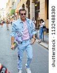 milan   june 16  carlo sestini... | Shutterstock . vector #1132488380