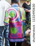 milan   june 16  man with... | Shutterstock . vector #1132490630