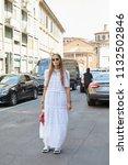 milan   june 16  carlotta oddi...   Shutterstock . vector #1132502846