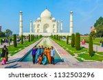 agra  india   nov 15  2011 ... | Shutterstock . vector #1132503296