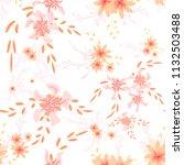 small flowers. seamless pattern ...   Shutterstock .eps vector #1132503488