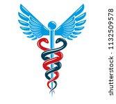 caduceus medical symbol ...   Shutterstock .eps vector #1132509578